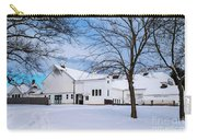 Hilltip Farm In Snow Carry-all Pouch