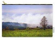 Hilltop Fog Sunrise Landscape Carry-all Pouch