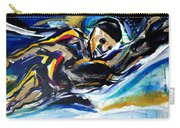 Him Swim Carry-all Pouch by John Jr Gholson