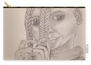 Himba Girl In Nambia Carry-all Pouch