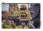 Hindu Worshippers, Bali Carry-all Pouch