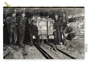 Hine: Coal Miners, 1911 Carry-all Pouch