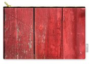 Hinge On A Red Barn Carry-all Pouch