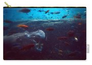 Hippo Eating African Cichlids Carry-all Pouch
