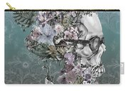 Hipster Floral Skull 2 Carry-all Pouch