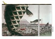 Hiroshige: Kites, 1857 Carry-all Pouch