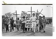 Hispanic Anti-viet Nam War March 1 Tucson Arizona 1971 Carry-all Pouch