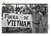 Hispanic Anti-viet Nam War March 2 Tucson Arizona 1971 Carry-all Pouch