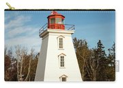 Historic Cape Bear Lighthouse, Pei Carry-all Pouch