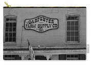 Historic Carpenter Farm Supply Sign Carry-all Pouch