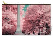 Historic Cemetery In Infrared Carry-all Pouch