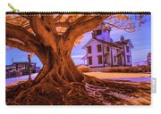 Historic Fermin Point Lighthouse In Infrared Carry-all Pouch