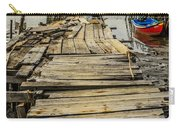 Historic Fishing Pier In Portugal I Carry-all Pouch