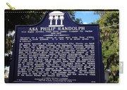 Historic Landmark Church Sign Carry-all Pouch