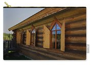 Historic Log Church Carry-all Pouch