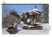 Historic Mining Steam Shovel During Alaska Winter Carry-all Pouch