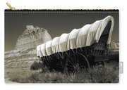 Historic Oregon Trail - Vintage Photo Art Print Carry-all Pouch