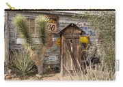 Historic Route 66 - Outhouse 2 Carry-all Pouch