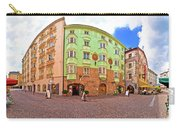 Historic Street Of Innsbruck Panoramic View Carry-all Pouch