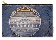 Historic Sydney Hospital - Plaque On Sidewalk Carry-all Pouch