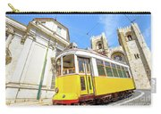 Historic Tram And Lisbon Cathedral Carry-all Pouch