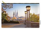 Historic Zagreb Towers Sunrise View Carry-all Pouch