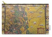 Historical Map Of Early Colorado Carry-all Pouch