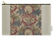 Historical Printed Textile Carry-all Pouch