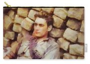 History In Color. French Resistance Fighter, Wwii Carry-all Pouch