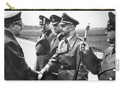 Hitler Shaking Hands With Heinrich Himmler Unknown Date Or Location Carry-all Pouch