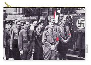 Hitler With Nazi Entourage Hess And Himmler In 2nd Row Circa 1935 Color Added 2016 Carry-all Pouch