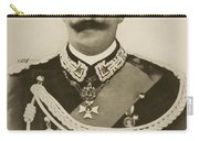 H.m. Victor Emmanuel IIi Of Italy Carry-all Pouch