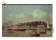 Hm Yacht Victoria Carry-all Pouch by George Gregory