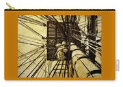 Hms Bounty - Up The Mast - 2 Carry-all Pouch