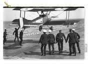 Hms Furious Landing, 1917 Carry-all Pouch
