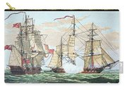 Hms Shannon Vs The American Chesapeake Carry-all Pouch