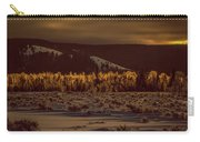 Hoar Frost In Dawn's Light Carry-all Pouch