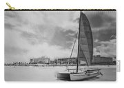 Hobie Black And White Carry-all Pouch