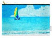 Hobie Sailing Off Lido Beach Coast Carry-all Pouch