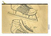 Hockey Skates Patent Art Blueprint Drawing Carry-all Pouch