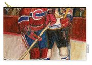 Hockey Stars At The Forum Carry-all Pouch