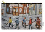 Hockey Town Montreal Created By Prankearts Carry-all Pouch