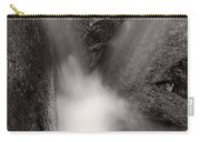 Hogback Creek And Granite Inyo Natl Forest Bw Carry-all Pouch by Steve Gadomski