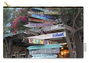 Hogfish Bar And Grill Directional Sign Carry-all Pouch