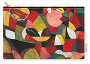 Hogs Hoops And A Pigskin Carry-all Pouch by Nadine Rippelmeyer