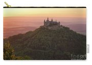 Hohenzollern Castle At Sunset Carry-all Pouch by Yair Karelic