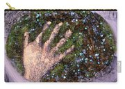 Holding Earth From The Series Our Book Of Common Faith Carry-all Pouch