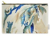 Holding On     War Ponies Carry-all Pouch