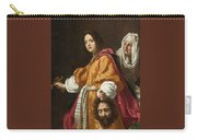 Holding The Head Of Holofernes Carry-all Pouch