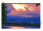 Hole In The Sky Sunset Carry-all Pouch